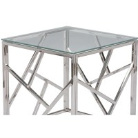 20 Ideas of Rectangle Glass Chrome Coffee Tables