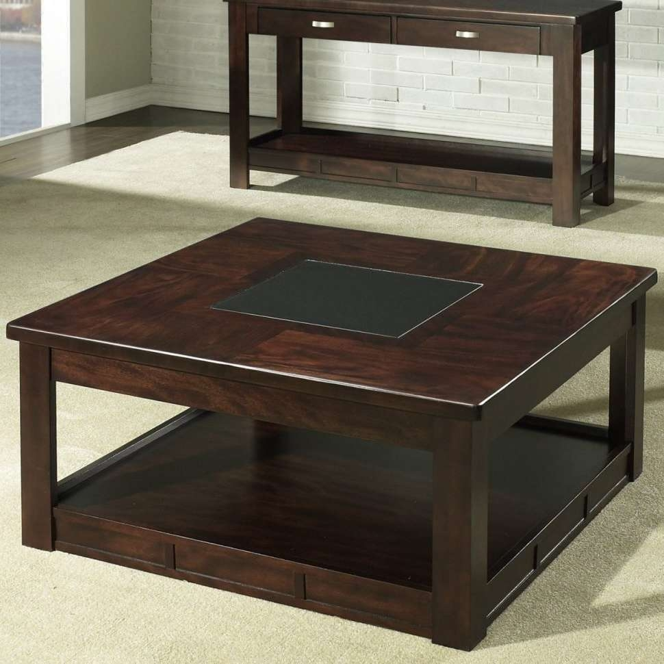 Displaying Gallery of Square Storage Coffee Tables (View