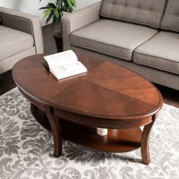 Gallery of Oval Walnut Coffee Tables (View 16 of 20 Photos)