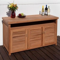 Teak Outdoor Cabinetry - Outdoor Ideas