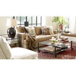 Neat Vintage Living Room Glass Pottery Barn Coffee Tables Pottery Barn Performance Suede Fabric Pertainingto Glass Pottery Barn Showing Gallery
