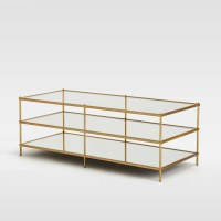 20 Inspirations of Glass Coffee Table With Shelf