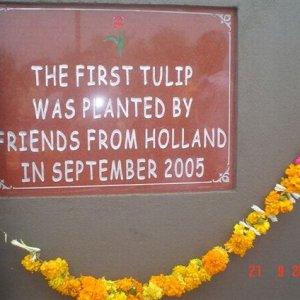 De eerste steen werd gelegd in September 2005