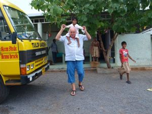 Peter met Vasantha