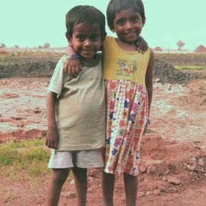 Vijay en Niktitha in 2007