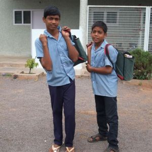 Copi en Harshavardan in 2014