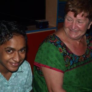 Bhanu en Ria