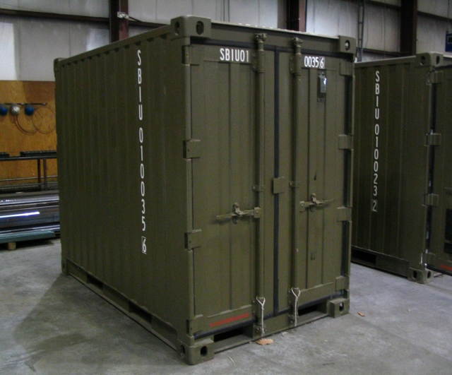 Sea Box Quadcon Dry Freight Containers