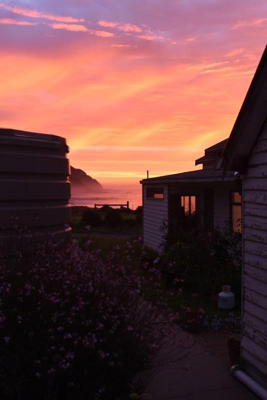 Beautiful sky at Seacroft