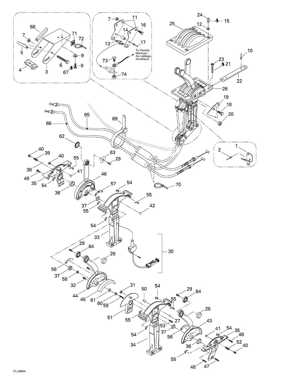 electrical wiring diagram of dodge d100 d600 and w100 w500