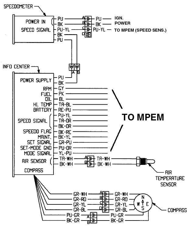 a wire diagram for 1988 sea doo