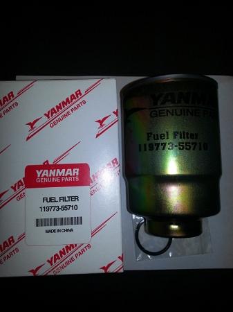 OEM Yanmar Fuel Filter 119773-55710