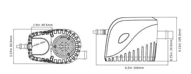 750 gph automatic bilge pump