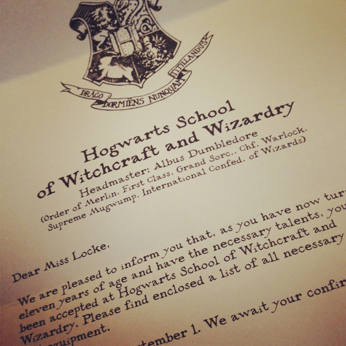 You\u0027ve Been Accepted \u2026 To Hogwarts \u2013 Sean Locke Photography - harry potter acceptance letter template