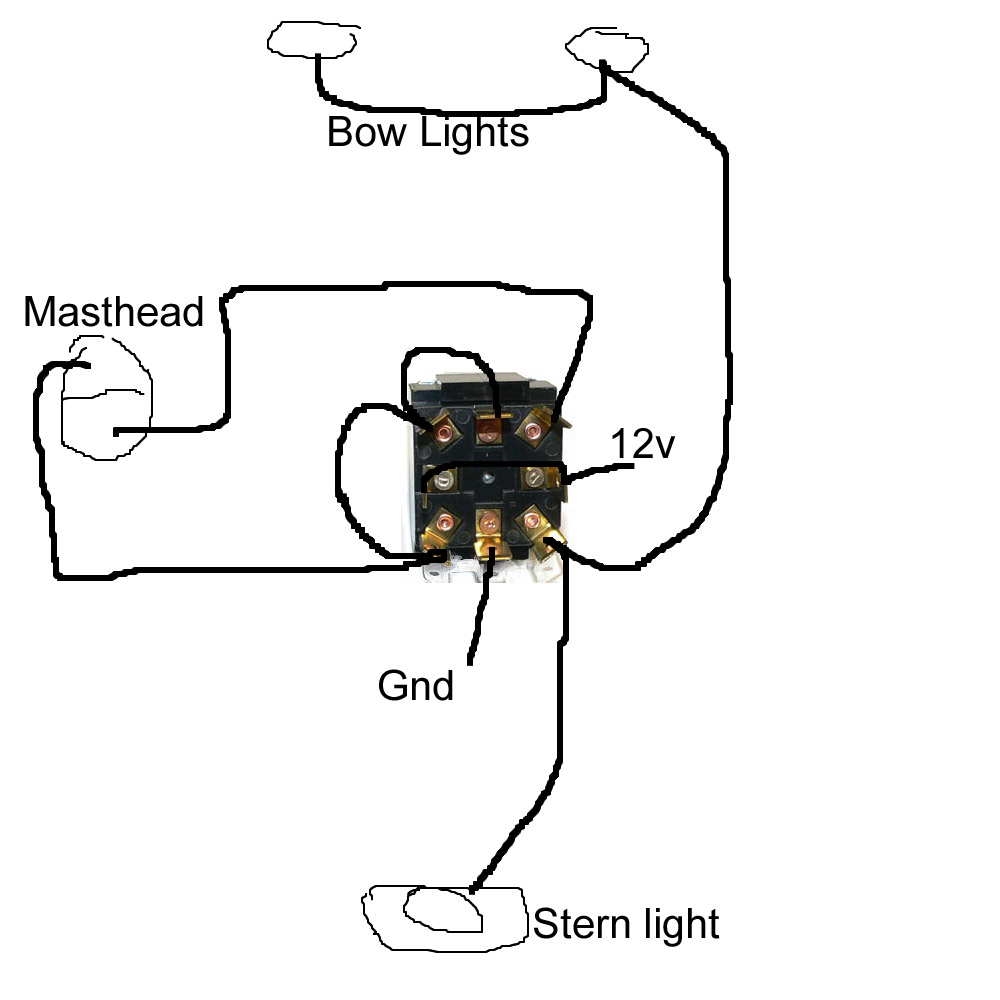 navigation light switch wiring diagram