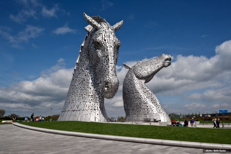 Car Parking Wallpaper The Kelpies