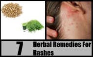 7 Herbal Remedies For Rashes