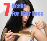 7 Herbs For Hair Loss