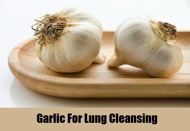 Garlic For Lung Cleansing
