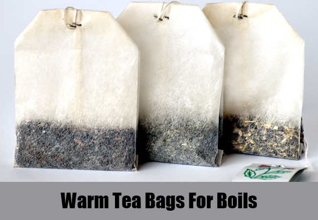 Warm Tea Bags For Boils