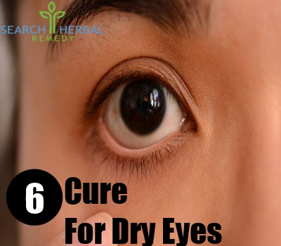 6 Cure For Dry Eyes