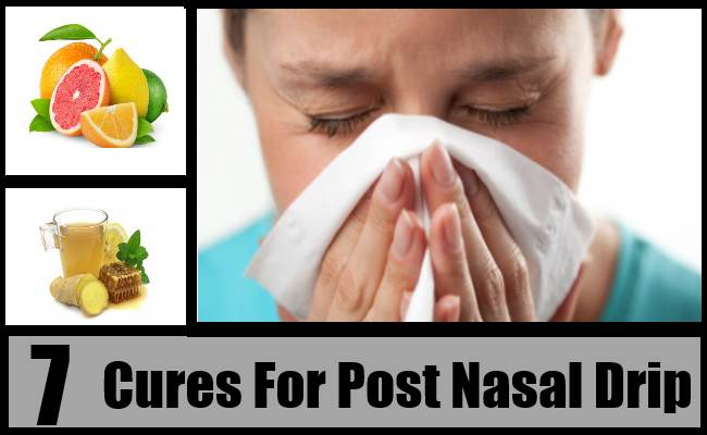 Cures For Post Nasal Drip