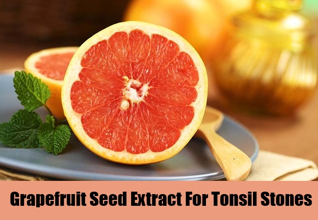 Grapefruit Seed Extract For Tonsil Stones