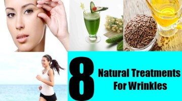 8 Natural Treatments For Wrinkles