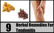 9 Top Herbal Remedies For Tendonitis