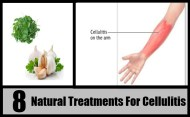 8 Natural Treatments For Cellulitis