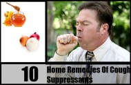 10 Home Remedies Of Cough Suppressants