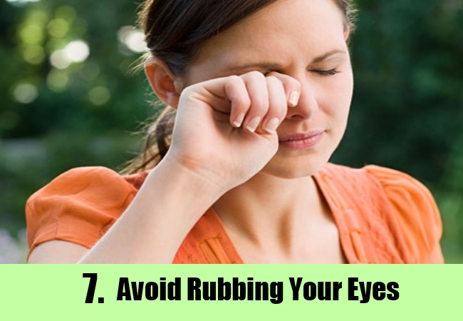 Do Not Rub Your Eyes