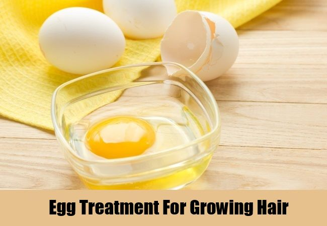 Egg Treatment For Growing Hair