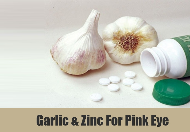 Garlic & Zinc For Pink Eye