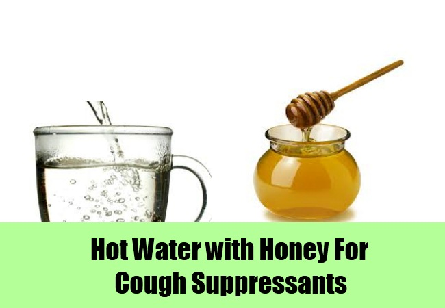 Hot Tea or Water with Honey