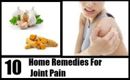 Top 10 Home Remedies For Joint Pain