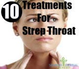 10 Treatments For Strep Throat