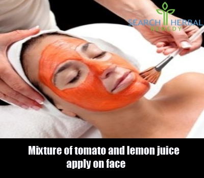tomato juice and lemon juice