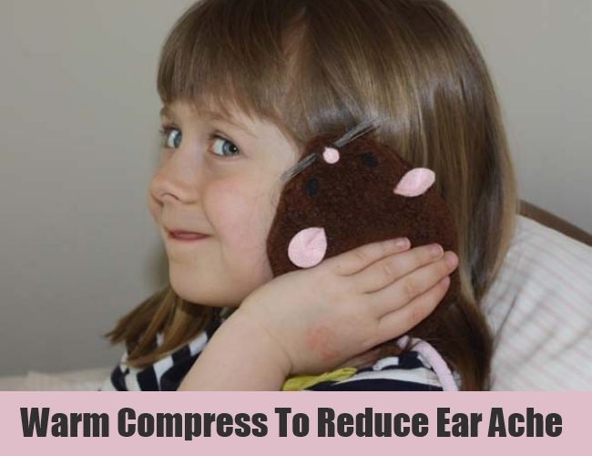 Warm Compress To Reduce Ear Ache