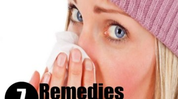 7 Remedies For Stuffy Nose