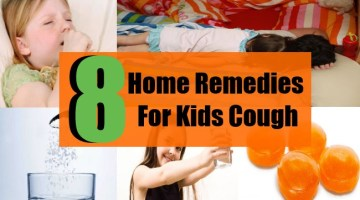 8 Home Remedies For Kids Cough