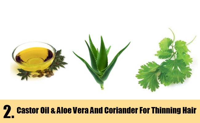 Castor Oil & Aloe Vera And Coriander