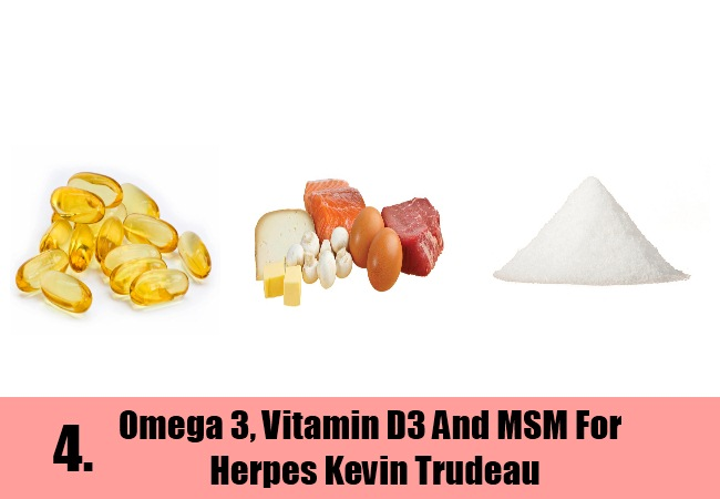 Omega 3, Vitamin D3 And MSM