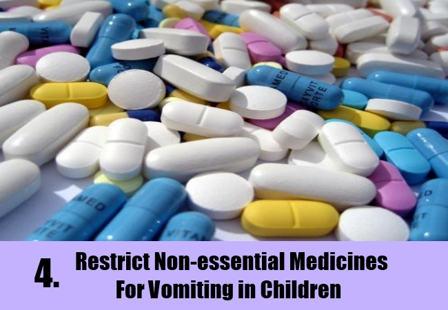 Home Remedy For Controlling Child Vomiting