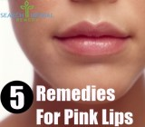 5 Remedies for Pink Lips