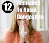 12 Remedies For Nasal Congestion