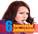 6 Remedies For Asthma Attack