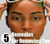 5 Remedies For Removing Tan
