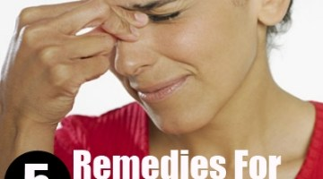 5 Remedies For Sinus Headache