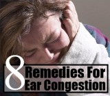 Best 8 Home Remedies For Ear Congestion